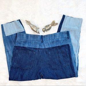 Zara Jeans - Zara Women Multi Wash Cropped Trouser Jeans Sz M